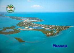Belize Placencia Aerial View New Postcard - Belize