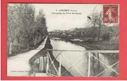 CHENEY VUE PRISE DU PONT DU CANAL CARTE EN TRES BON ETAT - Otros Municipios