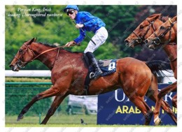 Ukraine | Postcard | Persian King | Leading Thoroughbred Racehorse | Horse - Chevaux