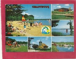 CPM. LAC DU DER . CHANTECOQ . AFFR AU VERSO LE 22-7-1985 . 2 SCANES - France