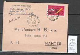 Reunion - Lettre  De LE PORT - 1972 - Covers & Documents