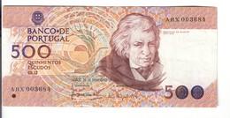 Portogallo Portugal 500 Escudos 1987 LOTTO 2551 - Portogallo