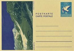 Liechtenstein - Ganzsache Postkarte Ungebraucht / Postcard Mint (c245) - Entiers Postaux