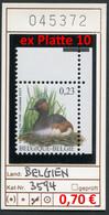 Buzin - Belgien - Belgique - Belgium - Belgie - Michel 3594  - Vögel Oiseaux Birds -  - ** Mnh Neuf Postfris - 1985-.. Birds (Buzin)