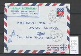 Reunion - Lettre  De LA SALINE - 1968 - Lettres & Documents