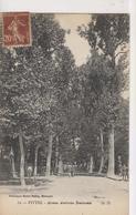 CPA-88-Vosges- VITTEL- Avenue Ambroise Bouloumié- - Vittel Contrexeville