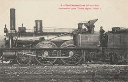 Les LOCOMOTIVES - Cie De L'Est : Locomotive Pour Train Léger, Série 1 - Trains