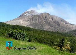 Montserrat Soufriere Hills Volcano New Postcard - Antillen