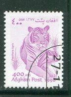 AFGHANISTAN- Timbre De 1998- Oblitéré (tigre) - Afghanistan