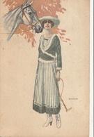 Illustrateur - BIANCHI - Femme Et Cheval - Illustrateurs & Photographes