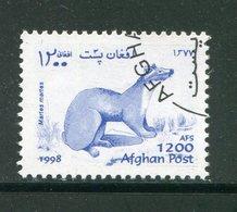 AFGHANISTAN- Timbre De 1998- Oblitéré - Stamps