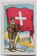 Chromo Chocolat Amatller Barcelona Banderas Del Universo Suiza Soldats Du Monde Militaria Suisse - Altri