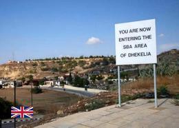 Dhekelia British Sovereign Base View Cyprus New Postcard Zypern AK - Zypern