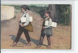 LISBOA   Vendedor De Jornaes  1909 - Lisboa