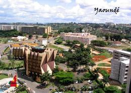 Cameroon Yaounde Overview New Postcard Kamerun Cameroun - Kamerun