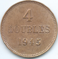 Guernsey - 1945 - 4 Doubles - KM13 - Guernsey
