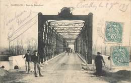 CPA 33 Gironde Castillon Sur Dordogne Pont De Tranchard - France