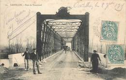 CPA 33 Gironde Castillon Sur Dordogne Pont De Tranchard - Andere Gemeenten