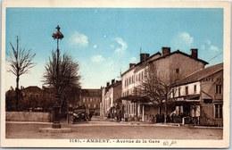 63 AMBERT - Avenue De La Gare. - Ambert