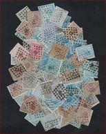 Nrs. 17 T/e/m 20 ( + 80 Zegels ) Gestempeld En In Variërende Staat (zie Scan) ! Inzet Aan 1 € ! LOT 175 - 1865-1866 Profil Gauche