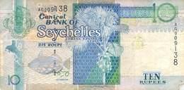 10 Rupie Seychelles VF/F (III) - Seychellen