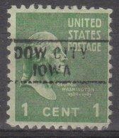 USA Precancel Vorausentwertung Preo, Locals Iowa, Dow City 729 - Vereinigte Staaten