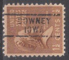 USA Precancel Vorausentwertung Preo, Locals Iowa, Downey 729 - Vereinigte Staaten