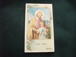 SANTINO HOLY PICTURE IMAGE SAINTE SAN GIUSEPPE - Religione & Esoterismo