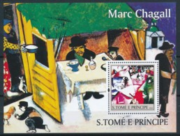 D - [401531]TB//**/Mnh-Sao Tomé-et-Principe 2004 - Marc Chagall, Tableau - Peinture - Art - Art