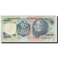 Billet, Uruguay, 50 Nuevos Pesos, KM:61d, B+ - Uruguay