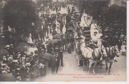 HAUTE MARNE - 15 - WASSY à Travers Les Ages - 24 Mai 1908 - Le Char De La Ville De Wassy,rue Du Général Defrance - Wassy