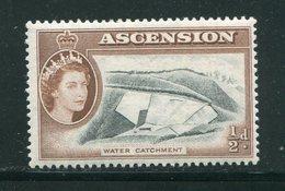 ASCENSION- Y&T N°63- Neuf Avec Charnière * - Ascension (Ile De L')