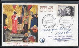 FDC 1955 - 1034  5ème Centenaire De La Mort De Jacques Coeur - 1950-1959