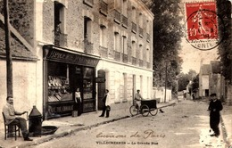 [94] Val De Marne > Villecresnes / LA  GRANDE  RUE  /  DANS L'ETAT  VORI  BAS  A  DROITE - Villecresnes