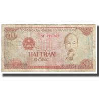 Billet, Viet Nam, 200 D<ox>ng, 1987, KM:100a, B - Vietnam