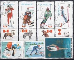 1988 CALGARY - Partie 7 Verschiedene  Used - Winter 1988: Calgary