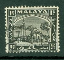 Malaya - Selangor: 1935/41   Mosque   SG68    1c     Used - Selangor