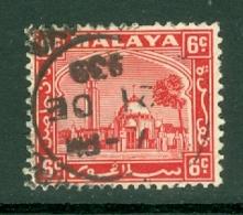 Malaya - Selangor: 1935/41   Mosque   SG74    6c     Used - Selangor