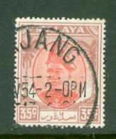 Malaya - Selangor: 1949/55   Sultan Hisamud-din Alam Shah   SG105    35c     Used - Selangor