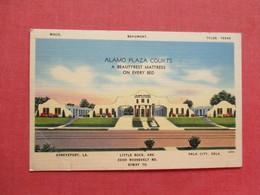 Alamo Plaza Courts  Texas  LA. Ark. Okla --ref 3409 - Advertising