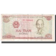 Billet, Viet Nam, 200 D<ox>ng, 1987, KM:100a, TB+ - Vietnam