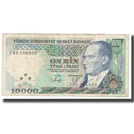 Billet, Turquie, 10,000 Lira, KM:200, TB - Turquie