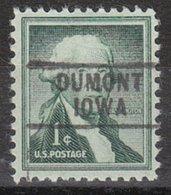 USA Precancel Vorausentwertung Preo, Locals Iowa, Dumont 745 - Vereinigte Staaten