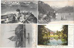 11175 - Lot De 200 CPA/CPSM/CPM De La SUISSE - 100 - 499 Cartoline