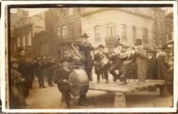 Belgique - Charleroi - Marcinelle - Carte-Photo - Un Ochestre Avant La Guerre De 1914 - Charleroi