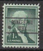 USA Precancel Vorausentwertung Preo, Locals Iowa, Dunkerton 734 - Vereinigte Staaten