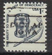 USA Precancel Vorausentwertung Preo, Locals Iowa, Dunlap 701 - Vereinigte Staaten