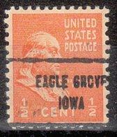 USA Precancel Vorausentwertung Preo, Locals Iowa, Eagle Grove 713 - Vereinigte Staaten