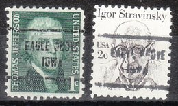 USA Precancel Vorausentwertung Preo, Locals Iowa, Eagle Grove 713, 2 Diff. - Vereinigte Staaten