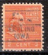 USA Precancel Vorausentwertung Preo, Locals Iowa, Earling 745 - Vereinigte Staaten